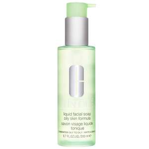 Clinique Cleansers & Makeup Removers Liquid Facial Soap huileux peau formule pour grasse / peau mixte 200ml / 6.7 fl.oz.