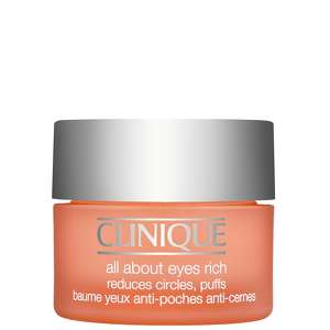Clinique Eye & Lip Care All About Eyes Rich Reduces Circles, Puffs 15ml / 0.5 fl.oz.