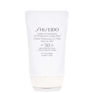 Shiseido Protection Urban Environment UV Protection Cream Plus SPF50 For Face & Body 50ml / 1.8 oz.