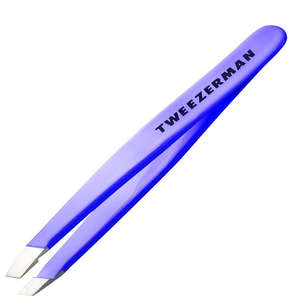 Tweezerman Brows Mini Slant Tweezer Blooming Lilac