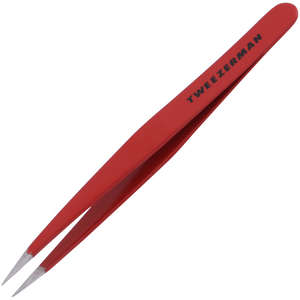 Tweezerman Brows Point Tweezer Signature Red