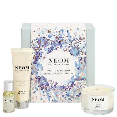 Christmas Gift Sets 2019.Neom Organics London Christmas 2019 Time For Real Luxury Gift Set