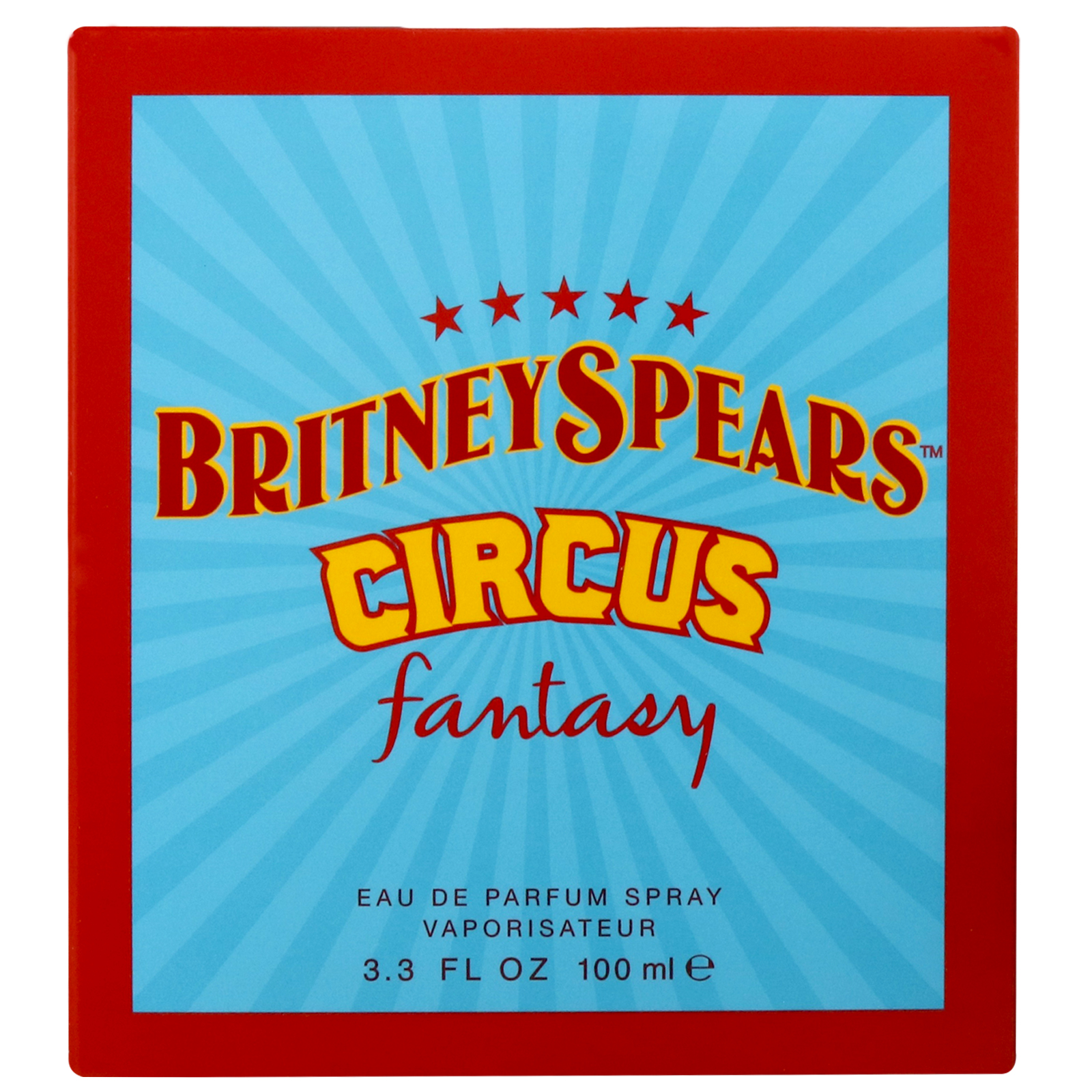 Britney Spears Fantasy Circus Eau de Parfum Spray 100ml Parfym