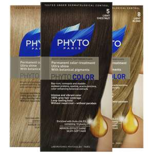 PHYTO COLOR: Permanent Color-Treatment