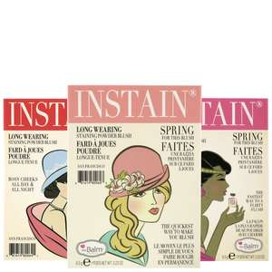 theBalm Cosmetics INSTAIN Long-Wearing Powder Staining Blush