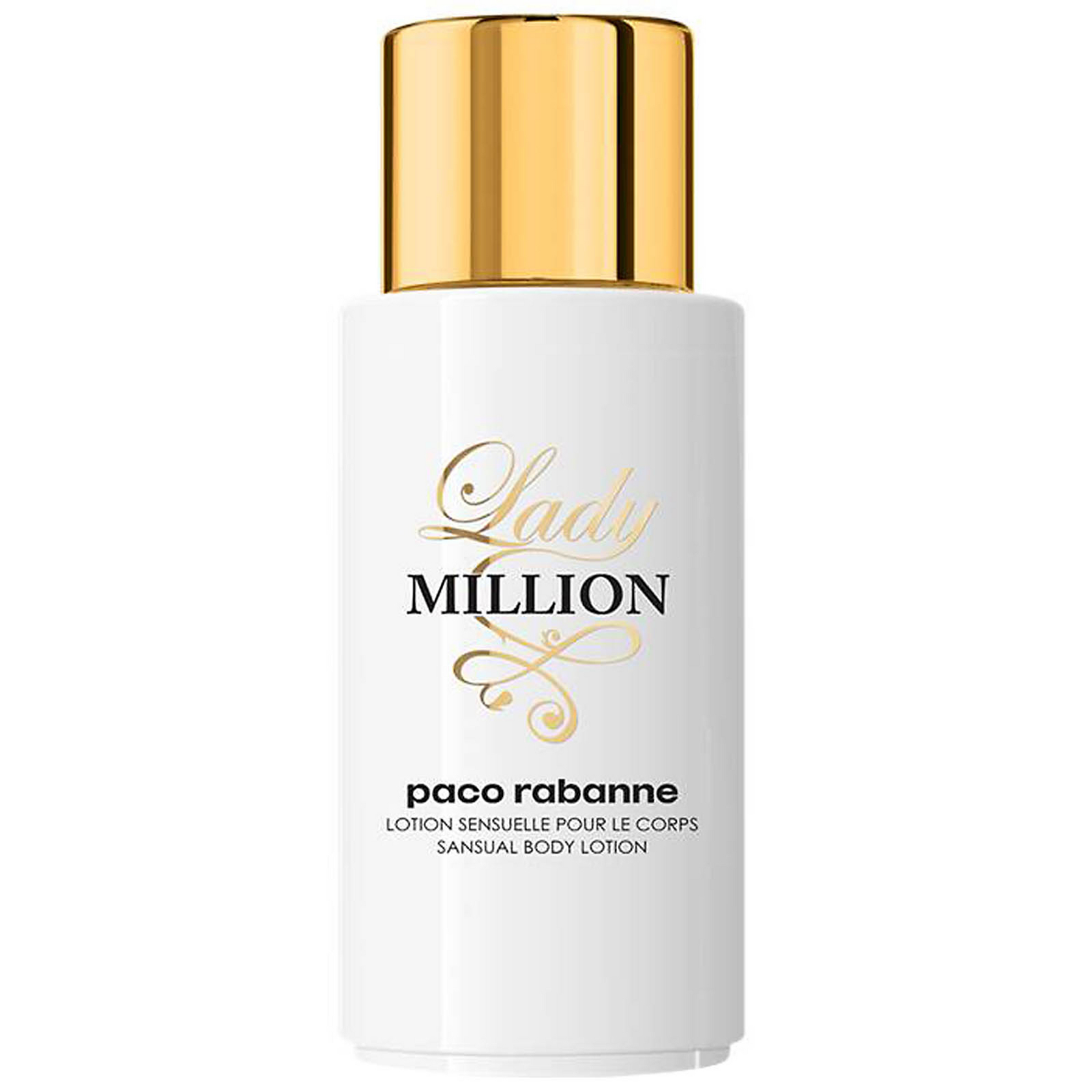 paco rabanne lady million body lotion 200ml
