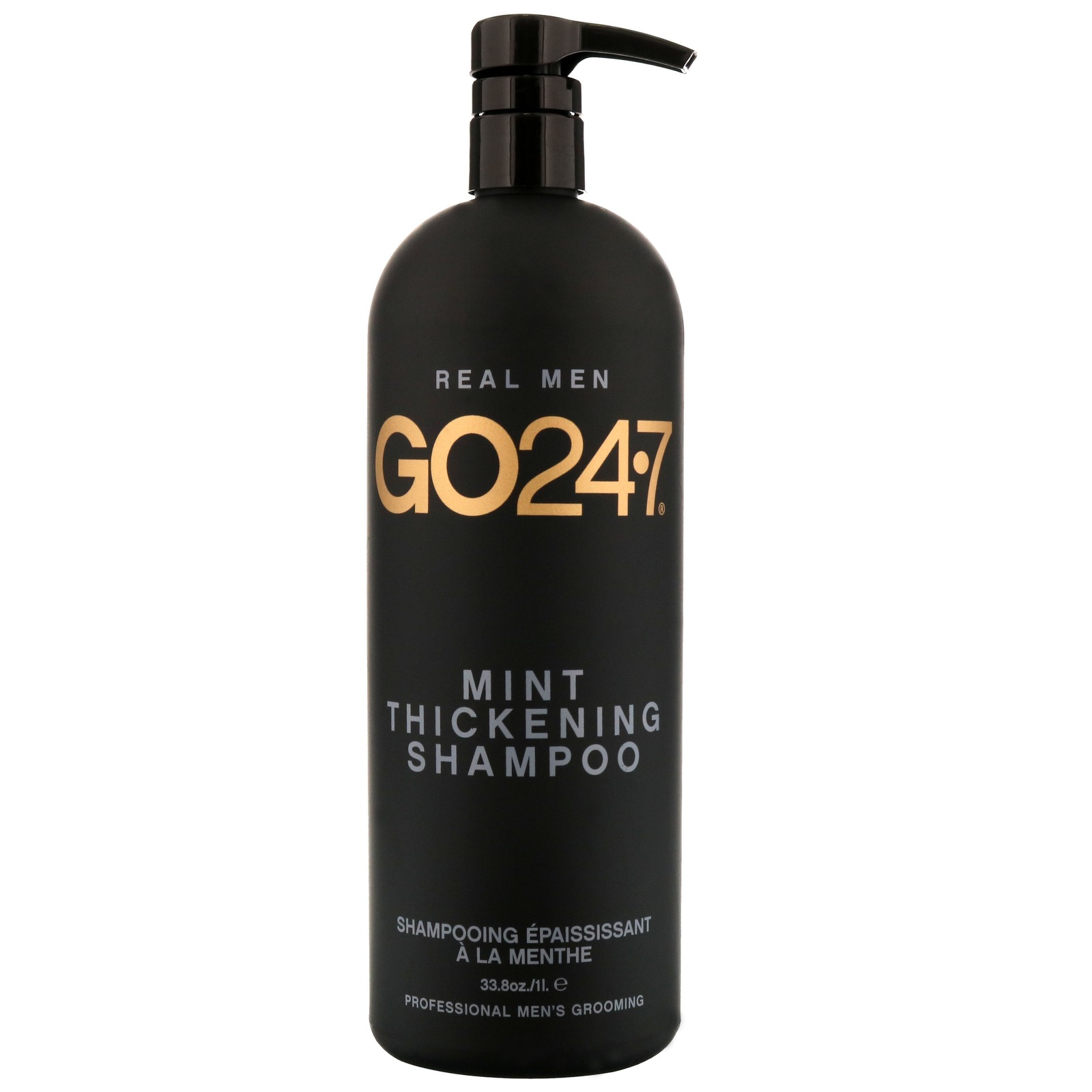GO24.7 Cleanse & Condition Menta l'ispessimento Shampoo 1000ml/33.8 oz.