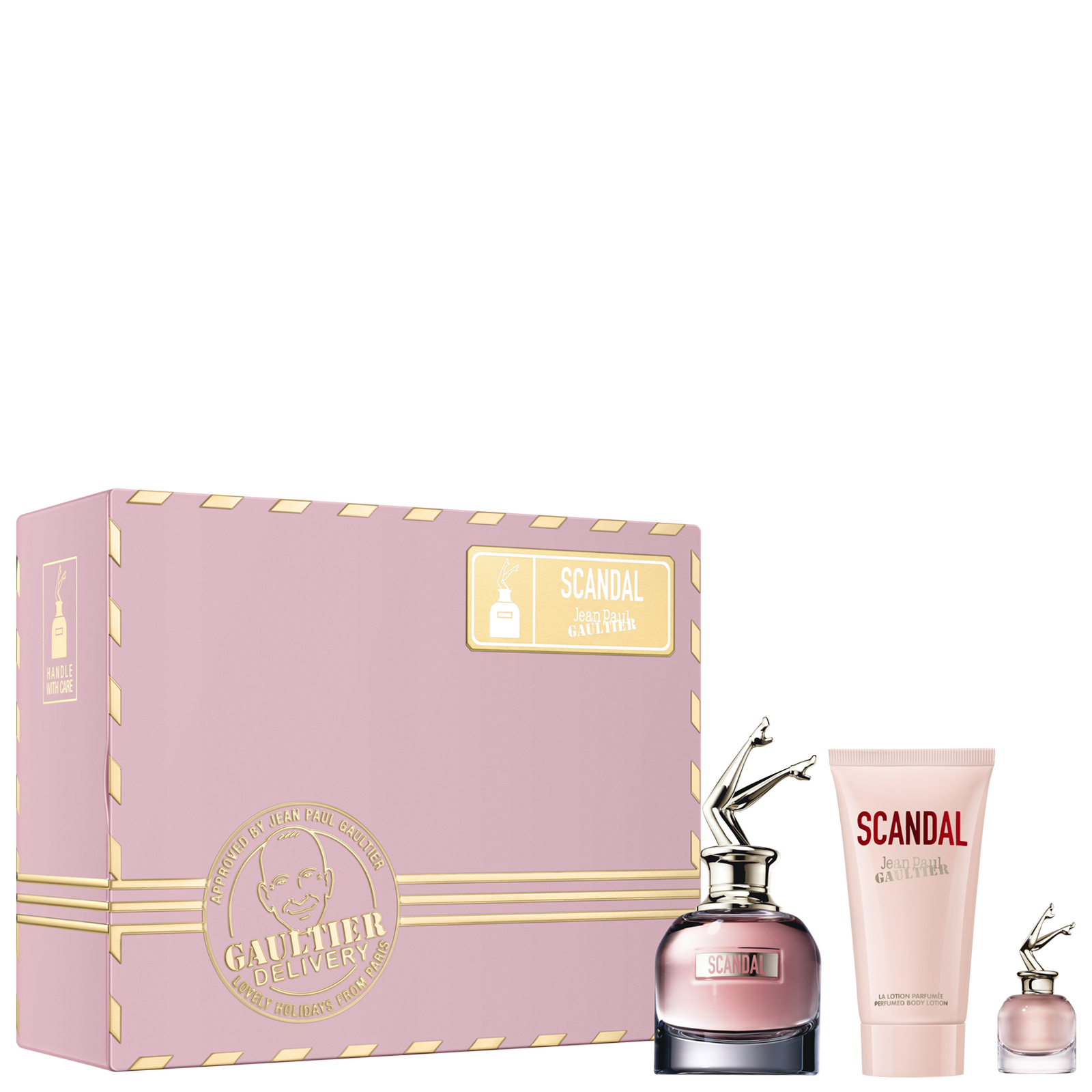 Jean Paul Gaultier Scandal Eau de Parfum Spray 50ml Set regalo